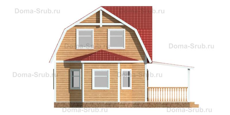 Проект ДБ-73 Дом из бруса 6х9