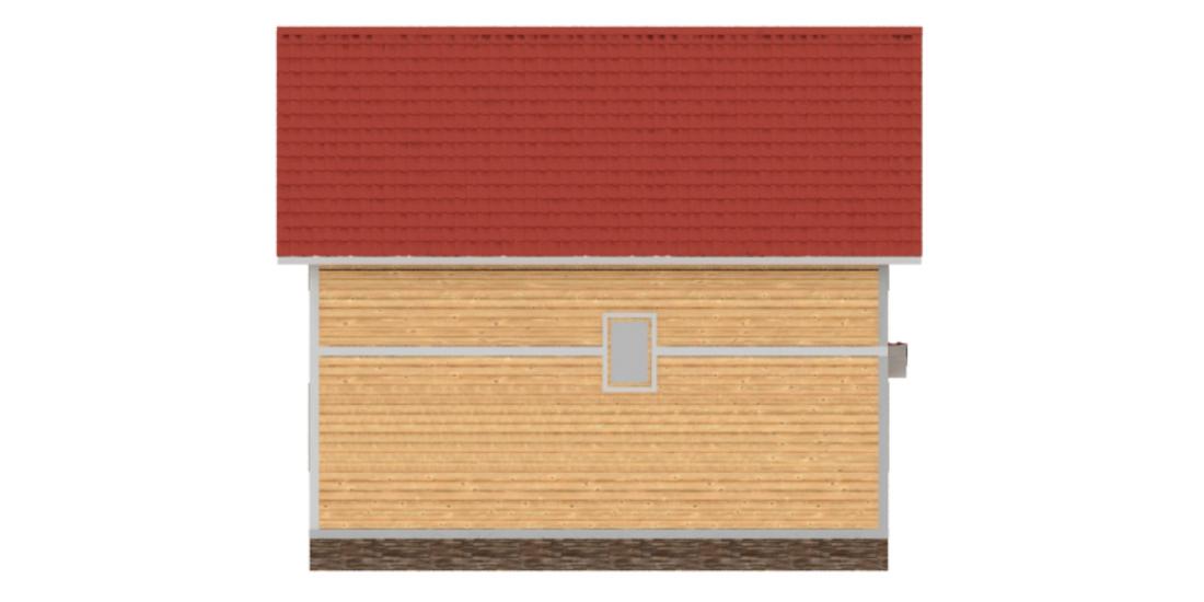 Проект КД-67 Каркасный дом 8х9