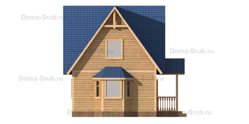 Проект КД-62 Каркасный дом 6х9