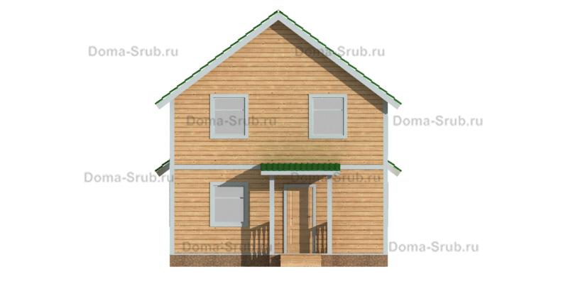 Проект КД-48 Каркасный дом 7х11,5