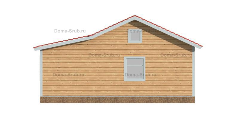 Проект ДБ-106 Дом из бруса 9х9