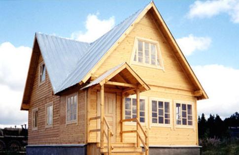 Проект КД-51 Каркасный дом 6х9
