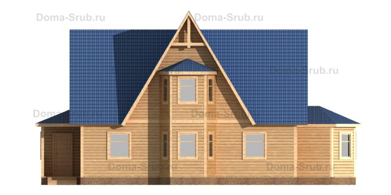 Проект КД-82 Каркасный дом 8х13