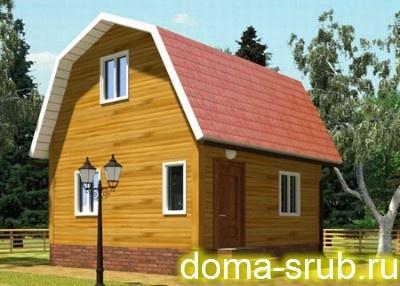 Проект ДБ-114 Дом эконом-класса 6x6