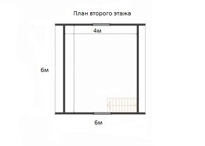 Проект ДБ-114 Дом эконом класса 6x6
