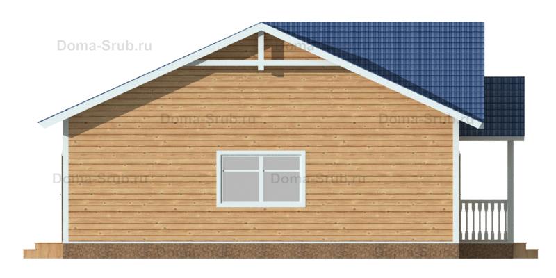 Проект ДБ-103 Дом из бруса 14,4x10,2