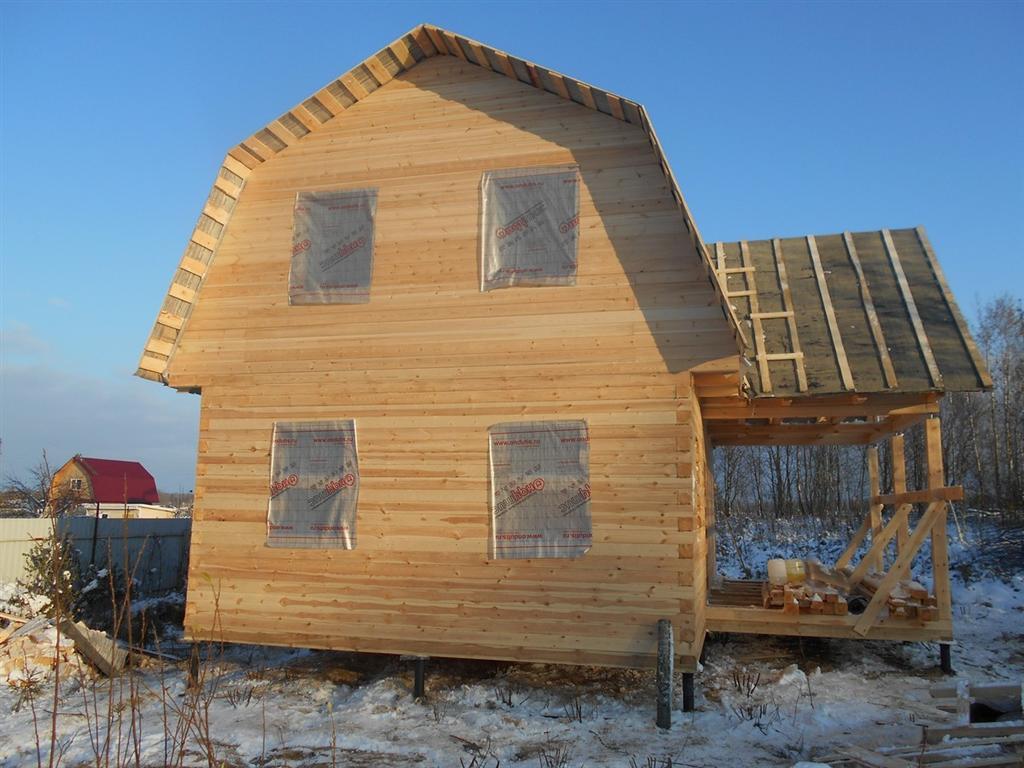Отзыв по строительству дома из бруса