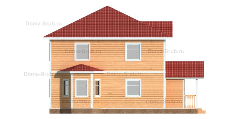 Проект КД-85 Каркасный дом 9х9