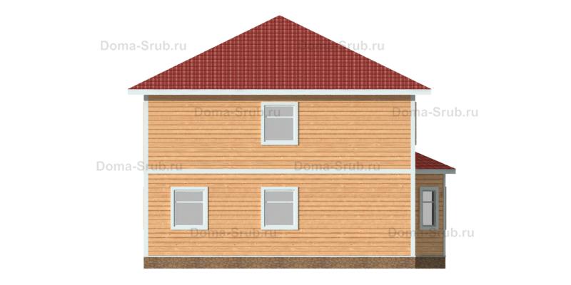 Проект ДБ-83 Дом из бруса 9х9